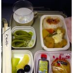 Air China's meals are  a little different that Delta's